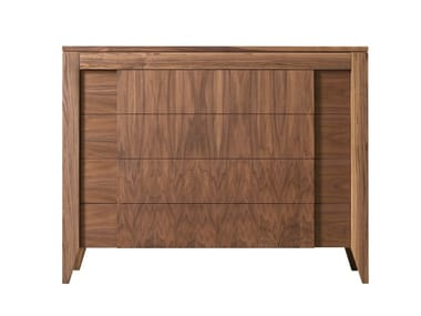 Walnut chest of drawers ANERIO | Chest of drawers