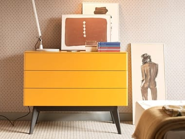 Wooden chest of drawers COMO