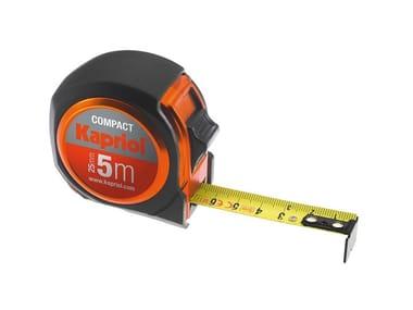 Flessometro con cassa in ABS antiurto COMPACT