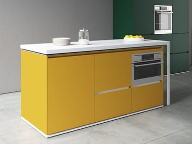Kitchen with island COMPACT | Kitchen