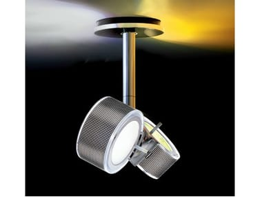 Direct-indirect light ceiling lamp COMPONI75 DUE SOFFITTO25