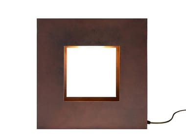 Corten™ table lamp COMUNI
