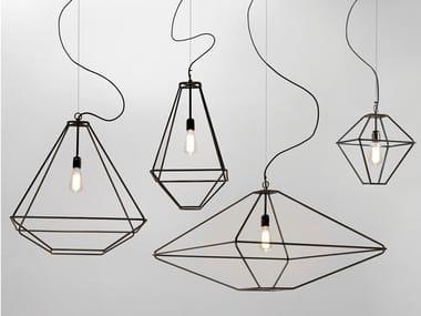 Design steel pendant lamp CON.TRADITION | Pendant lamp