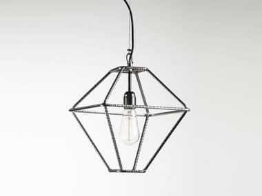 Direct light metal pendant lamp CON.TRADITION XS