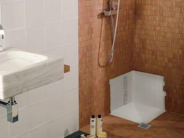 Flush fitting polystyrene shower tray CONCEPT XPS | Shower tray
