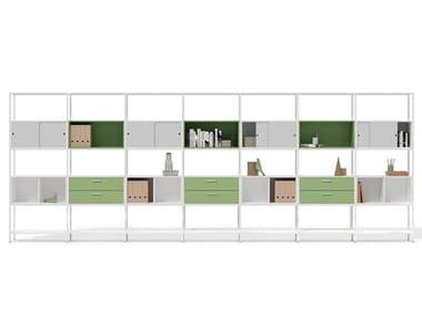 Mobile ufficio modulare in acciaio CONCERTO | Mobile ufficio modulare