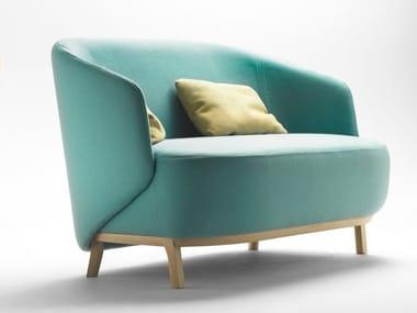 Fabric small sofa CONCHA | Small sofa