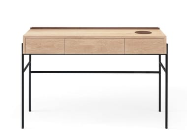 Solid wood console table / secretary desk CONCIERGE