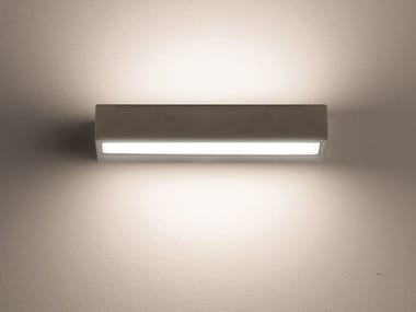 LED direct-indirect light Outdoor wall Lamp CONCRETE | Outdoor wall Lamp