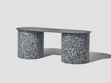 Metal bench CONFETTI | Metal bench