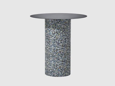 Round metal high table CONFETTI | Round table