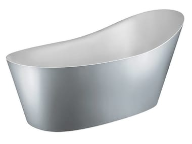 Freestanding Cristalplant® bathtub CONO BATH 45923