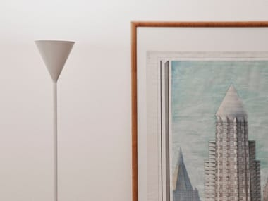 Lampada da terra a LED in alluminio CONO | Lampada da terra