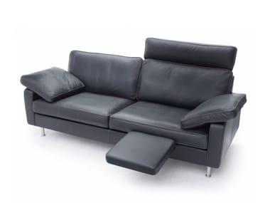 Leather Sofa With Headrest CONSETA | Leather Sofa