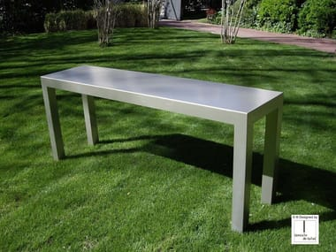 Rectangular iron console table CONSOLE 4