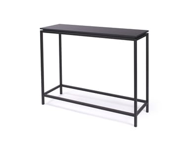 Rectangular console table CONSOLE FLAT
