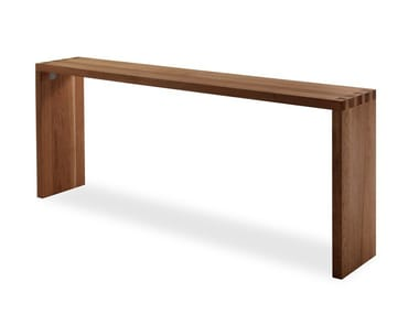 Table console / table en bois massif FRAME & FRAME BAR