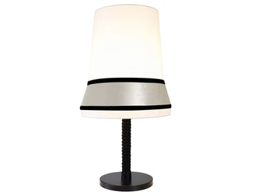 Metal and fabric table lamp CONTARDI - AUDREY TA LARGE