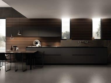 Lacquered linear kitchen CONTEMPORA | Linear kitchen