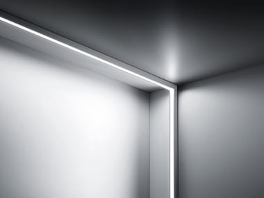 Aluminium linear lighting profile CONTINUOUS ROD MINIMAL