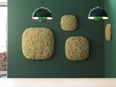 Moss Acoustic wall panel CONVEX