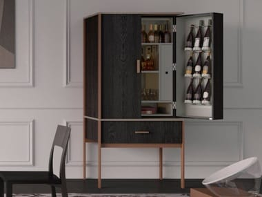 Bar cabinet with integrated lighting CONVIVIUM