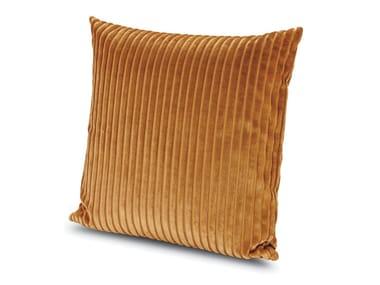 Cuscino quadrato in velluto COOMBA | Cuscino quadrato