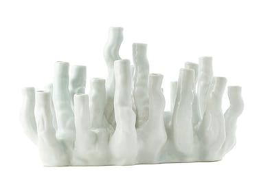 Vaso in porcellana CORAL REEF