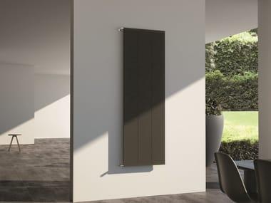 Termoarredo in alluminio a parete CORAL