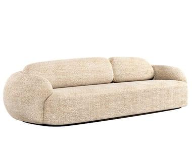 3 seater wool sofa CORAL | Sofa