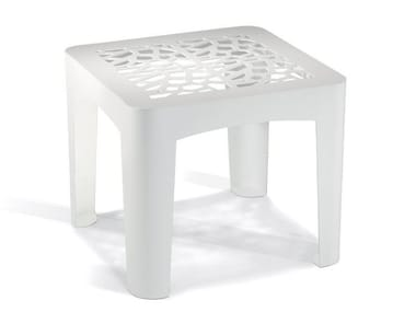 Galvanized steel coffee table CORAL TABLE