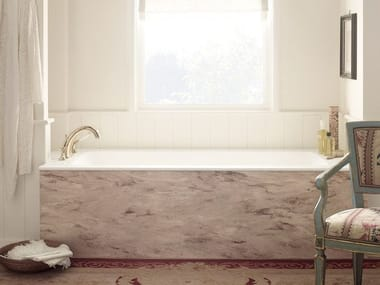 Rectangular built-in Corian® bathtub CORIAN® DELIGHT 8410