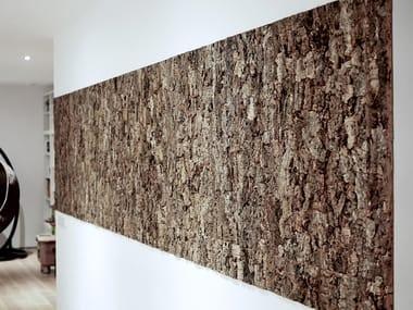 Cork tree bark wall tiles CORK BARK WALL PANELS