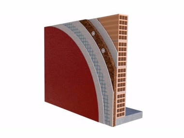 Exterior insulation system CORKSYSTEM