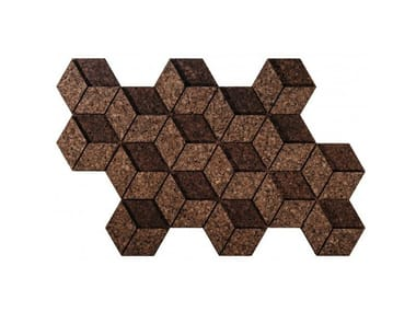 Cork wall tiles CORKUBE