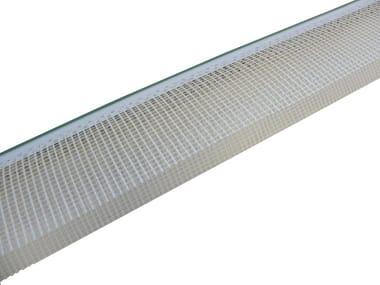 PVC corner bead CORNER BEAD WITH BALCONY PROFILE