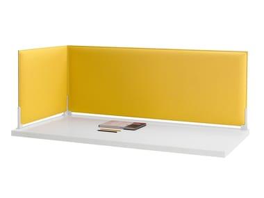 分隔板的课桌