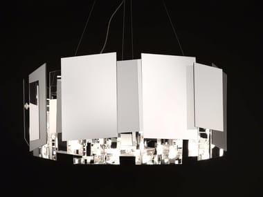 PMMA pendant lamp COROA - 480