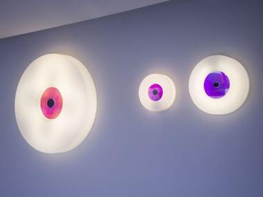 LED methacrylate wall lamp CORONA | Methacrylate wall lamp