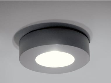 Direct light aluminium ceiling lamp with dimmer CORONA | Aluminium ceiling lamp