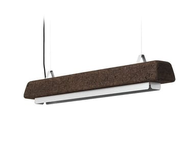 LED cork pendant lamp CORTINA BIG