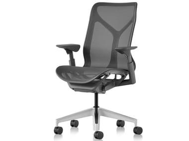 Sedia ufficio ergonomica con schienale medio COSM | Sedia ufficio