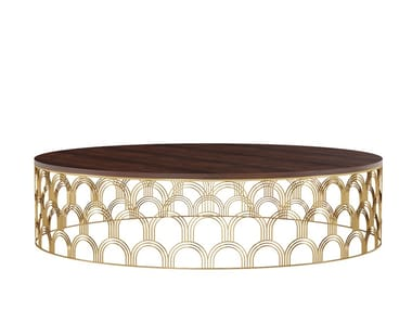 Round metal coffee table COSMOS | Coffee table