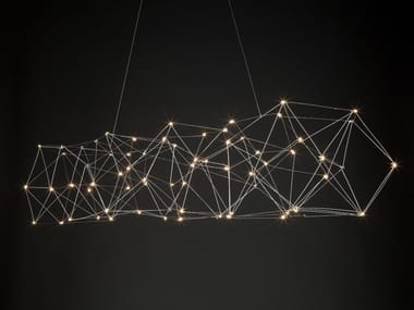 Lampada a sospensione a LED in metallo COSMOS | Lampada a sospensione