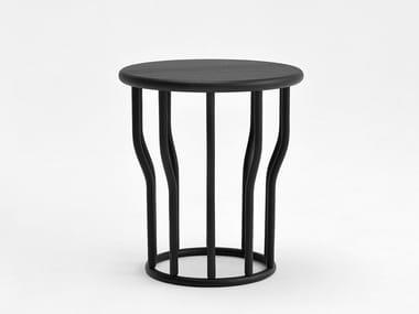 Mesa de centro de café lacada de madeira COSSE | Mesa de centro lacada