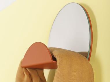 Steel mirror / coat rack COSTELLATION