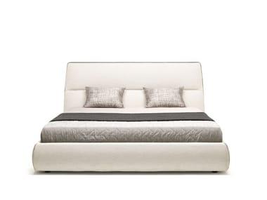 Doppelbett Bett mit Bettkasten mit Polsterkopfteil COSY