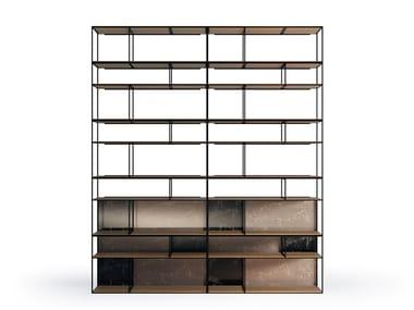 Open modular bookcase COTA