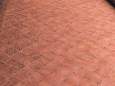 Porcelain wall/floor tiles with terracotta effect COTTAGE