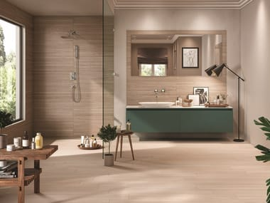 Wall/floor tiles with wood effect COTTAGE